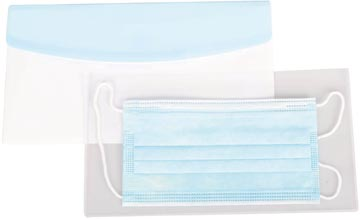 Tarifold set met antimicrobiële hoes + Color Dream Chequebook enveloptas voor mondmaskers, pak van 6 sets